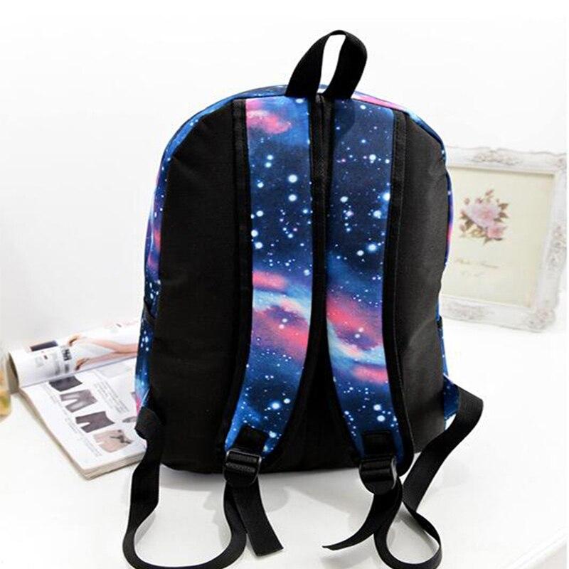 universo espaço impressão mochilas escolares Técnica : Gravando