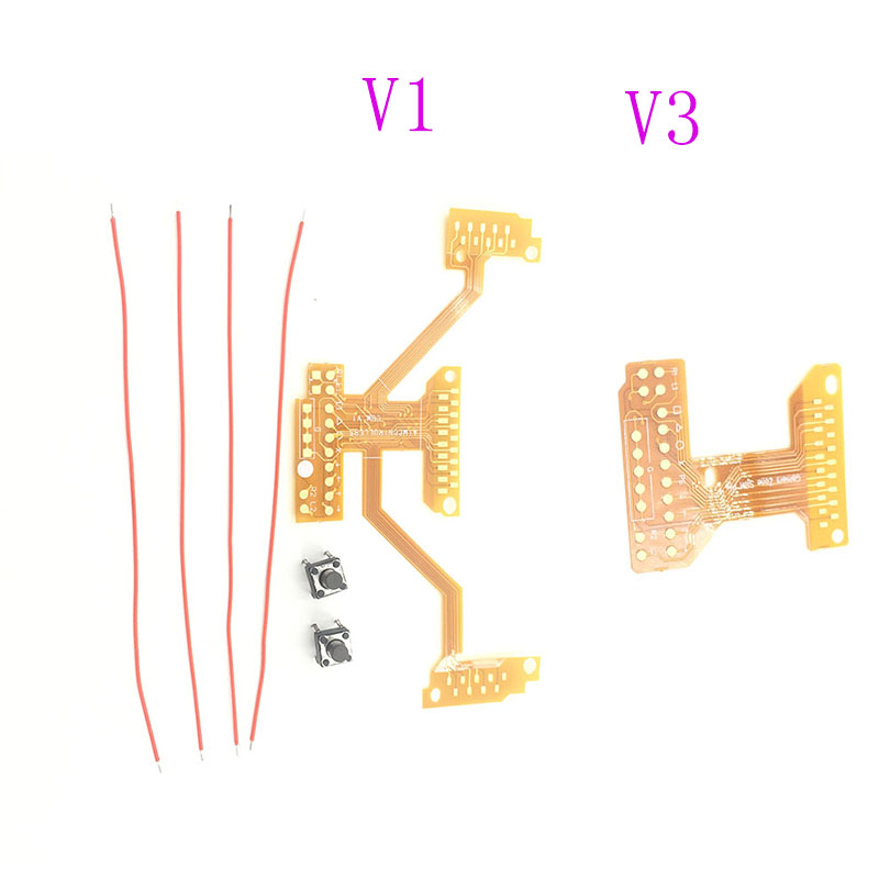 Para PS4 controlador remapper V1 V3 Modding cinta Junta paletas botón interruptor de cable Kit