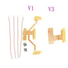 Para ps4 controlador remapper v1 v3 modding placa de fita para pás interruptor botão fio kit