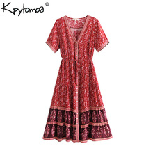 Romantic Lydia Summer Loose African Beach Tunic Boho Wide Short Dresses Large Size