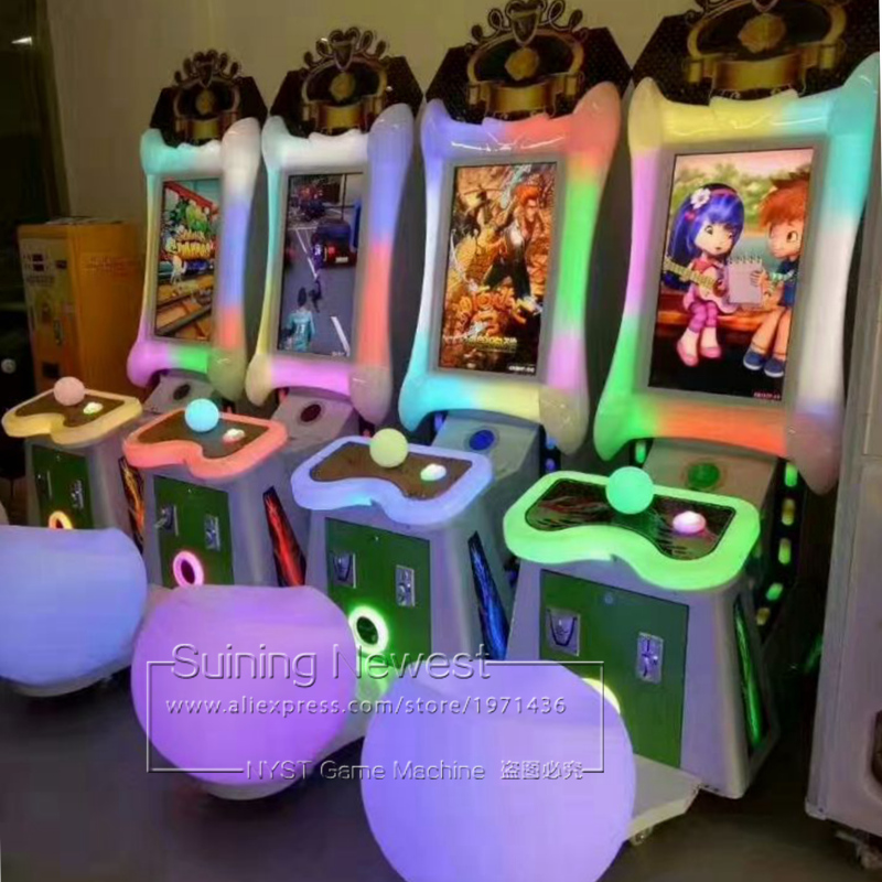 Amusement Device Video Arcade Game Machine Temple Run Escape Racing Tickets Redemption Machine For Teenagers Adults and Kids