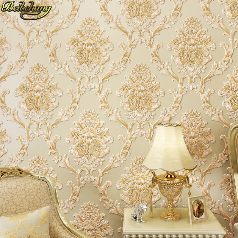 beibehang papel de parede 3D European wallpapers for living room bedroom TV background desktop flooring wall papers home decor beibehang warm european bedroom wallpapers 4d stereo nonwovens wallpapers living room tv background wallpapers