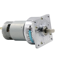 1pc 12V24V DC gear micro motor Positive and negative Electric motor High torque speed motor