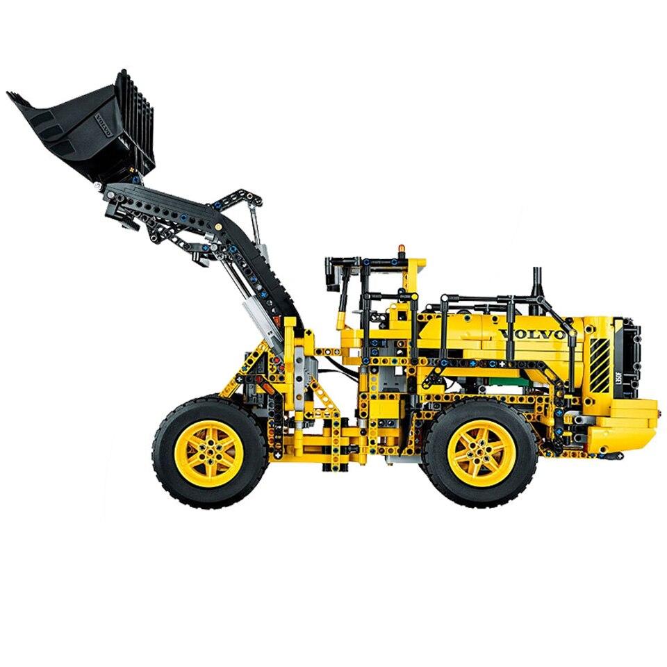 Cargador de coche RC Compatible con Legoing Technic 42030 bloques de construcción regalo de cumpleaños para niños juguetes de Control remoto para niños-in Bloques from Juguetes y pasatiempos    2