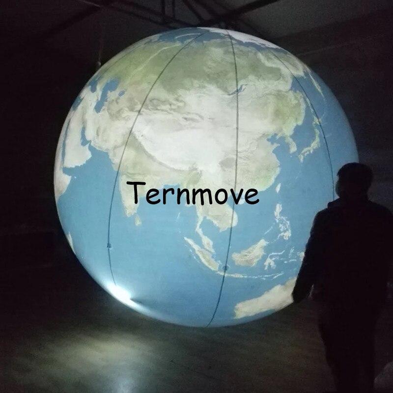 Terre gonflable, grands globes gonflables du monde à vendre globe gonflable livraison gratuite éducation géographique publicité jouet - 2