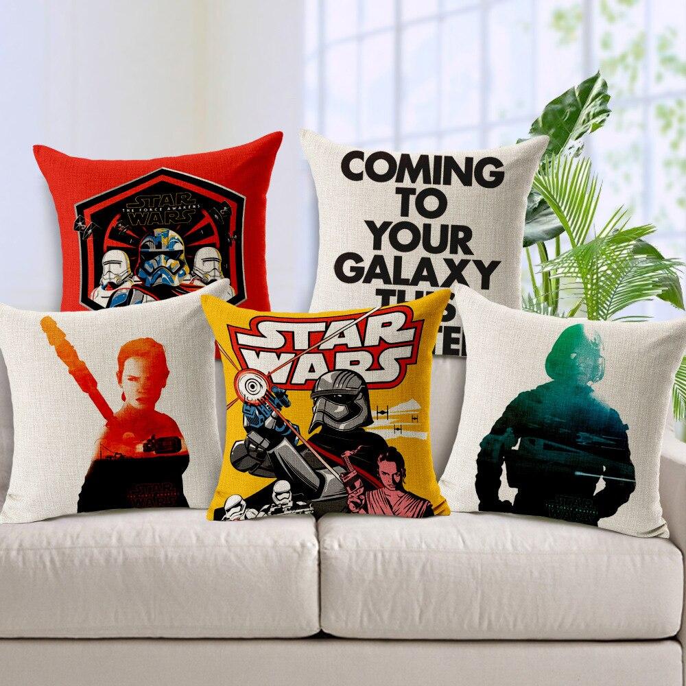 Creative Almohadas personas imagen Star Wars Películas Cojines ...