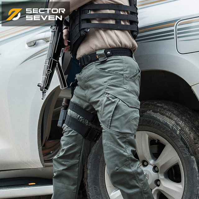IX9 Lycra tactical War Game Cargo pants mens silm Casual Pants mens trousers Combat SWAT Army military Active Pants 1