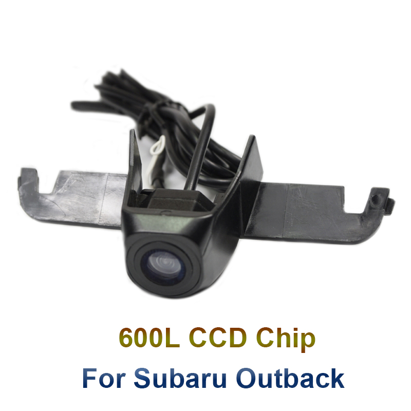 For Subaru Outback 2016 Front View Car Camera Parking Waterproof Installation In Car Logo Support PAL/NTSC TV System