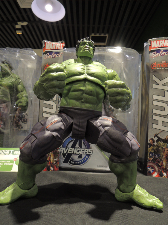 Incredible Hulk Iron Man Hulk Buster Age Of Ultron 33CM PVC Toys Action Figure Hulk Smash superheroes the 2 age of ultron hulk ultron pvc action figure toy collectible model doll great gift 25cm 23cm