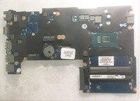 826376 001 аккумулятор большой емкости DAX61CMB6D0 Тетрадь PC материнская плата подходит для HP probook 430 G3 440 G3 Материнская плата ноутбука SR2EV 3885U Процессо