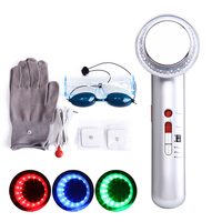 DARSONVAL Ultrasound Cavitation Machine Photon Slimming Device 7in1 EMS Body Massager Anti Cellulite LED Therapy Weight Loss