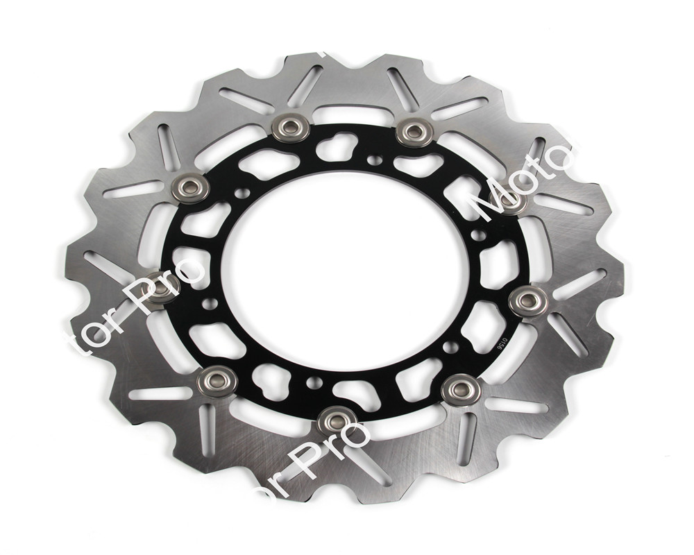 Front Brake Disc FOR YAMAHA WR 250X 2008 XV 950 2015 XJ 600S DIVERSION 1998 1999 2000 2001 2002 2003 Motorcycle brake disk Rotor motorcycle parts 1 pair black stainless steel mechanical motorbike front rear disc brake rotor fit for suzuki gsx r 750 2000 2001 2002 2003 front l r