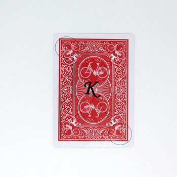 Cartas de Magic Baralho Marcado de poker Jogando Cartas de Poker Close-up Rua Truque Mágico 63*88mm