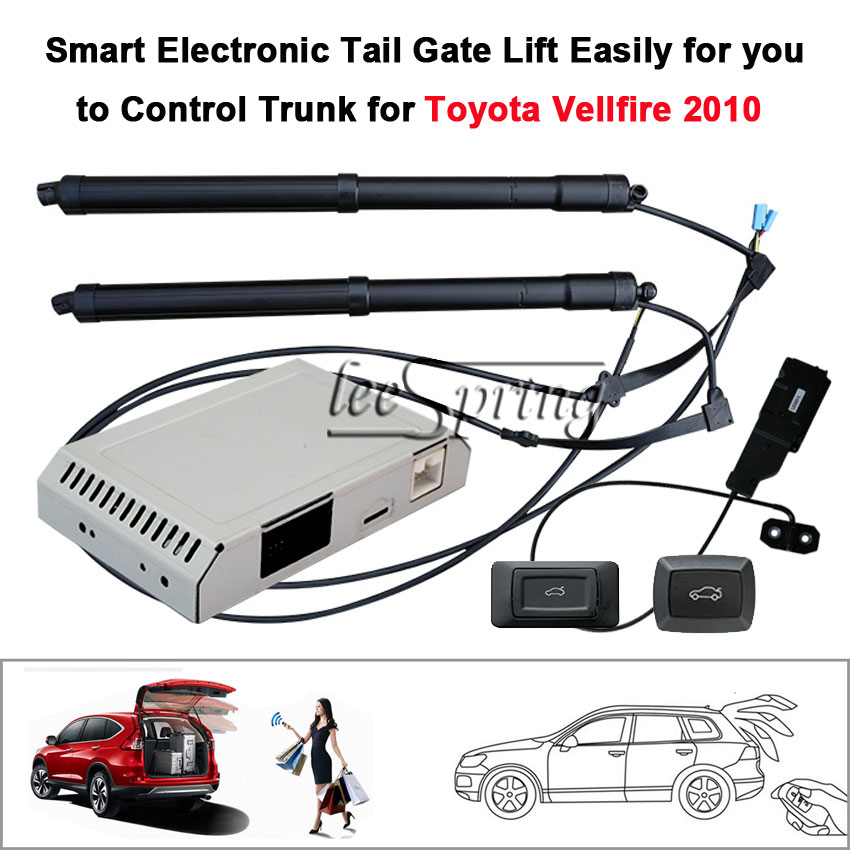 Car Electric Tail Gate Lift Special For Toyota Vellfire 2010 With Suction Easily For You To Control Trunk