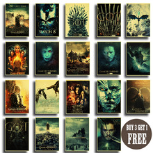 Game of Throne GOT Season 8 Jon snow New Movie Vintage Poster Home living Room Bedroom Wall Decor Printed Painting Art