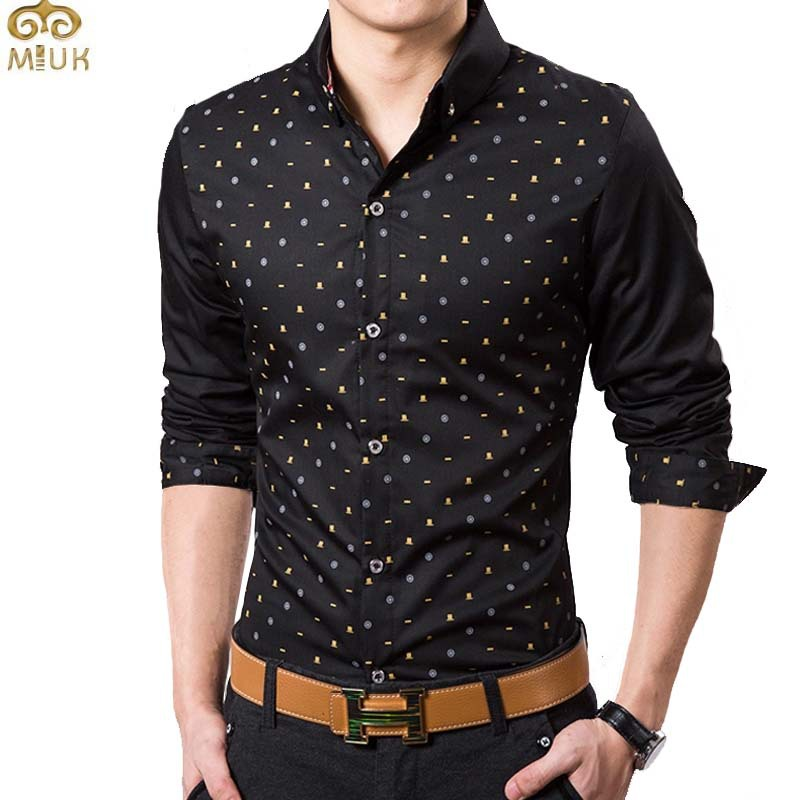 Black Printed Shirts