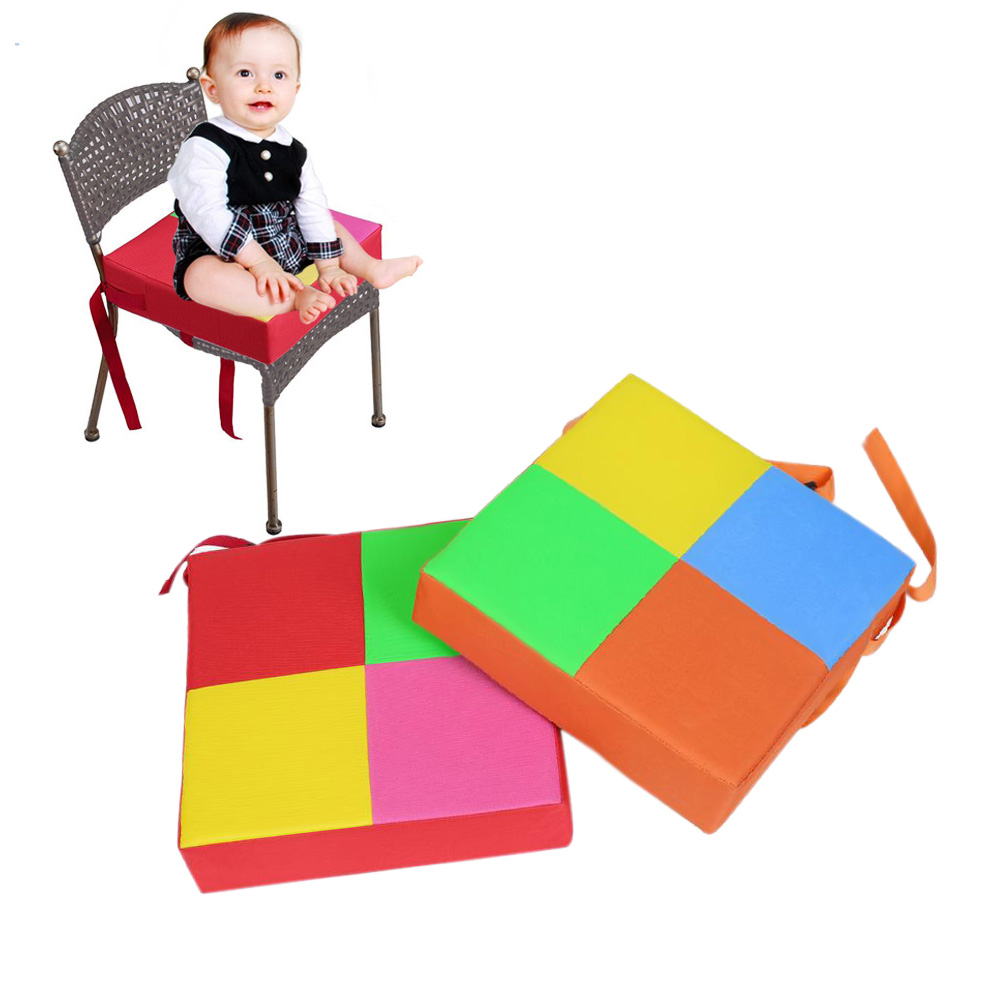 Baby Kids Chair Booster Cushion Highchair Increase Height Seat Pad Chair Mat Supplies BM88