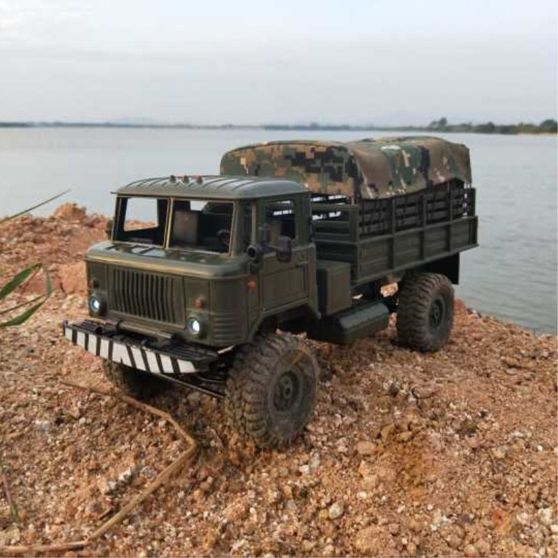 WPL B16 drive truck GAZ army card carport upgrade vehicle model series of WPL truck auto components and accessories wholesale new wpl truck gaz 2 vehicle models series of parts components and accessories for wpl truck car wholesale
