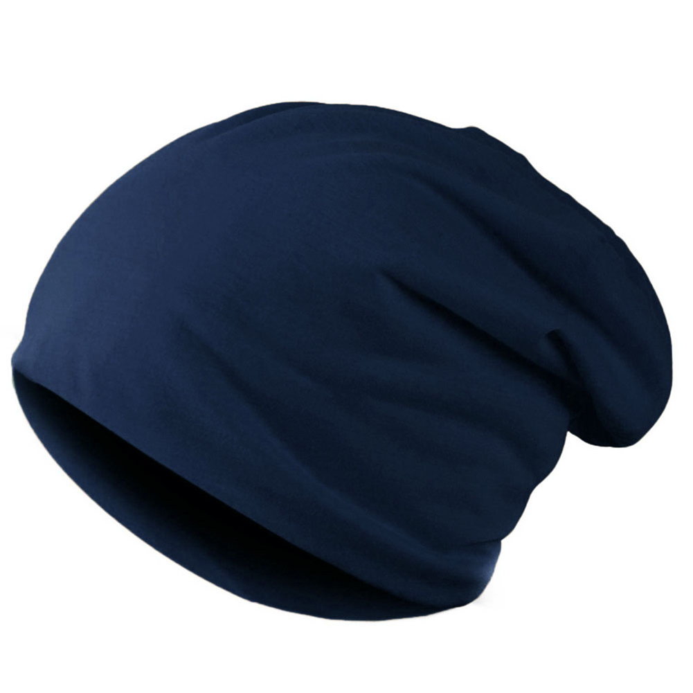 Gratë Pranvera Meshkuj të Thurur Unisex Kapelë Dimërore Rastesishme Beans Solid Color Hip-hop Snap Slouch Skullies Bonnet beanie Hat Gorro
