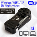 Wireless WiFi IP Mini Camera Sport pan Espia DV Video Recorder Infrared Night Vision  Digital Hidden Small Cam Camcorder