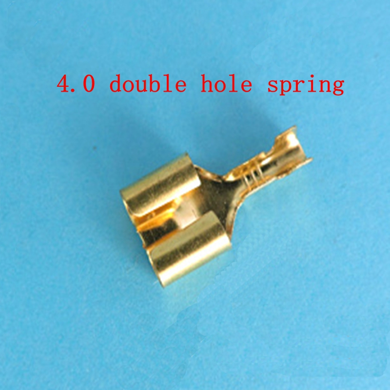50pcs/lot DJ222-4AB  double hole terminal 4MM double hole socket bullet head seat cylindrical connector car terminal 50pcs/lot DJ222-4AB  double hole terminal 4MM double hole socket bullet head seat cylindrical connector car terminal