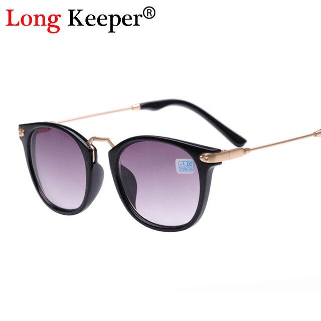 396104a3bb3 Long Keeper Women Myopia Glasses Men Cat Eye Sunglasses Shortsighted  Eyeglasses Prescription -1.0 -1.5