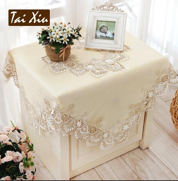 Etonnant 364# European Cream Princess Embroidery Table Cloth Mat Tablecloth Lace  Tablecloth Table Dinner Ornament Runner