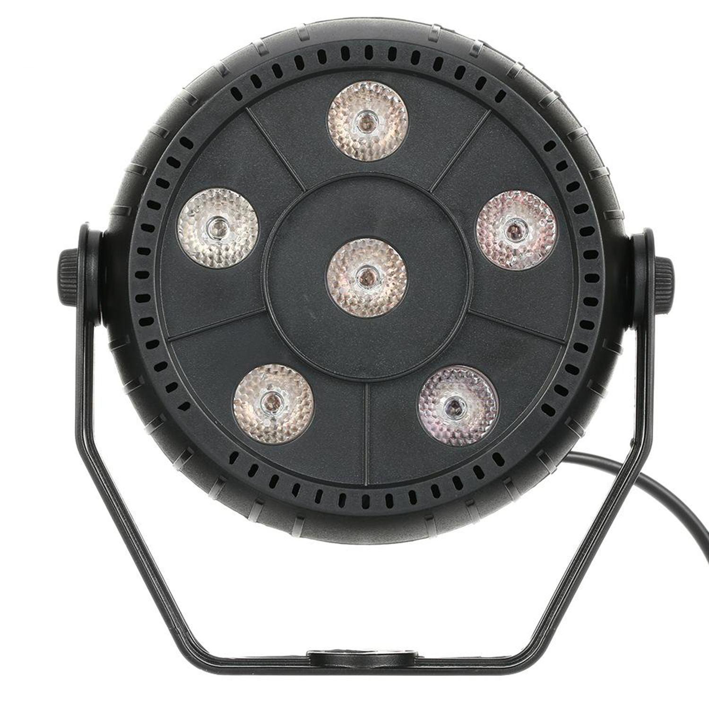 Mini 13W Dj Laser Disco Ball Stage Light 6 Led Rgb Effect Portable Stage Par Light Auto Sound Activation Indoor Disco Lamp салфетница доляна приборы цвет черный 13 5 х 4 5 х 9 5 см