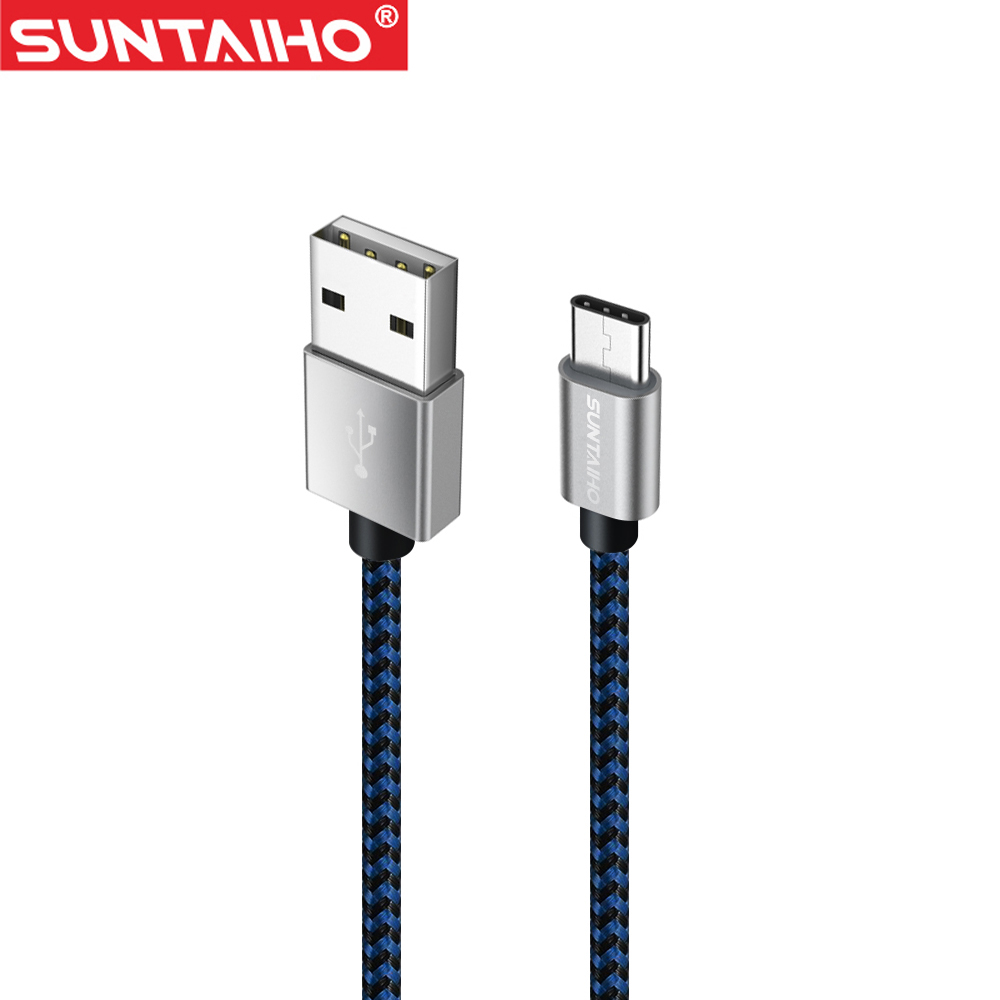 Suntaiho USB Type-C Cable 50CM 1M 2M 3M Fast Charging & Sync Data Cable for Macbook Xiaomi 4c NEXUS 5X