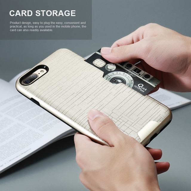 Luxury Card Slot Case – Apple iPhone