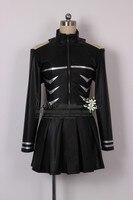 Hot Anime Tokyo Ghoul Kaneki Ken Girl Uniforms Party Fashion Dress Skirt Cosplay Costume + Stockings