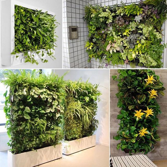 free bolsillo jardineras macetas de jardn jardn vertical verde colgante de pared maceta grande para balcones cm cm with jardineras grandes para exterior - Jardineras Exterior