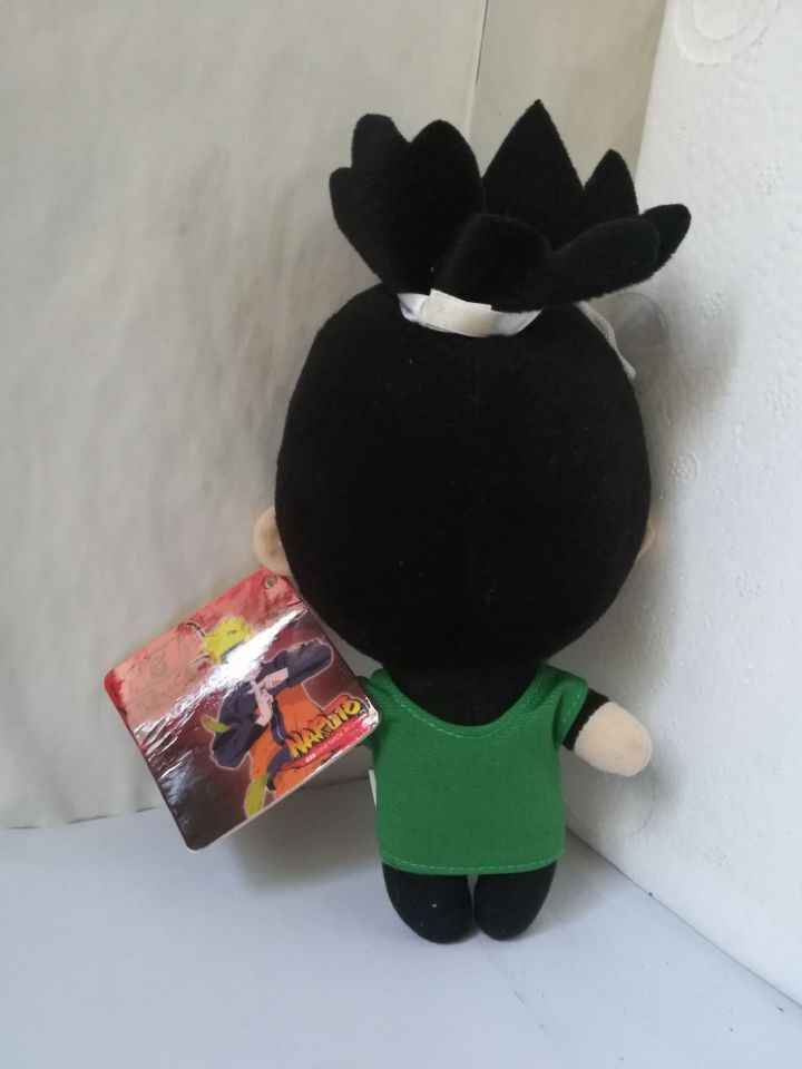 Filmy i seriale Naruto rysunek około 20 cm Nara Shikamaru pluszowa zabawka 8 cal miękka lalka zabawki dla dzieci prezent urodzinowy w0779