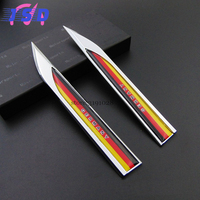 Auto Styling Accessories Car Sticker Door Decal With German Flag Logo For Audi A4L BMW F106