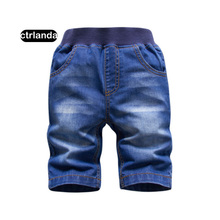 children boys jeans shorts soft cotton 2-8y denim shorts kids embroidery shorts baby boys casual board shorts children clothing