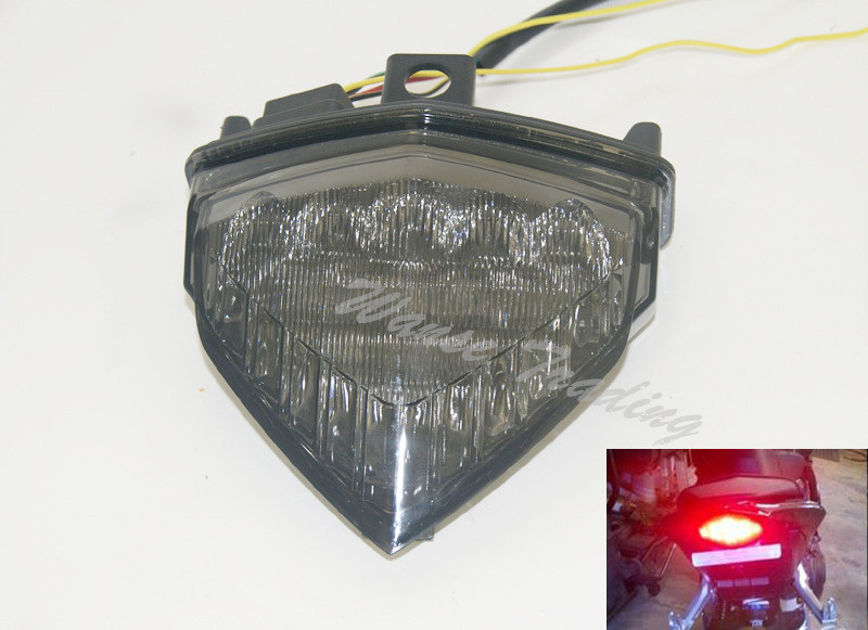Rear Taillight Tail Brake Turn Signals Integrated Led Light Smoke For 2011 2012 2013 2014 HONDA CB600F CB 600 F 600F Hornet PC41 aftermarket free shipping motorcycle parts led tail brake light turn signals for honda 2000 2001 2002 2006 rc51 rvt1000r smoke