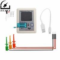 LCR TC1 TFT Colorful Display Backlight Transistor Tester for Diode Triode Capacitor Resistor Transistor ESR NPN PNP MOSFET
