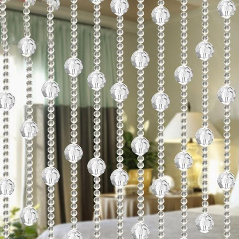 compare prices on beaded sheer curtains online shopping buy low price beaded sheer curtains at. Black Bedroom Furniture Sets. Home Design Ideas