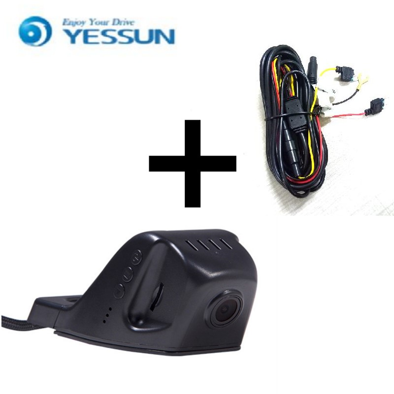 YESSUN For VW Jetta / Car Driving Video Recorder DVR Mini Control APP Wifi Camera Black Box / Registrator Dash Cam Night Vision