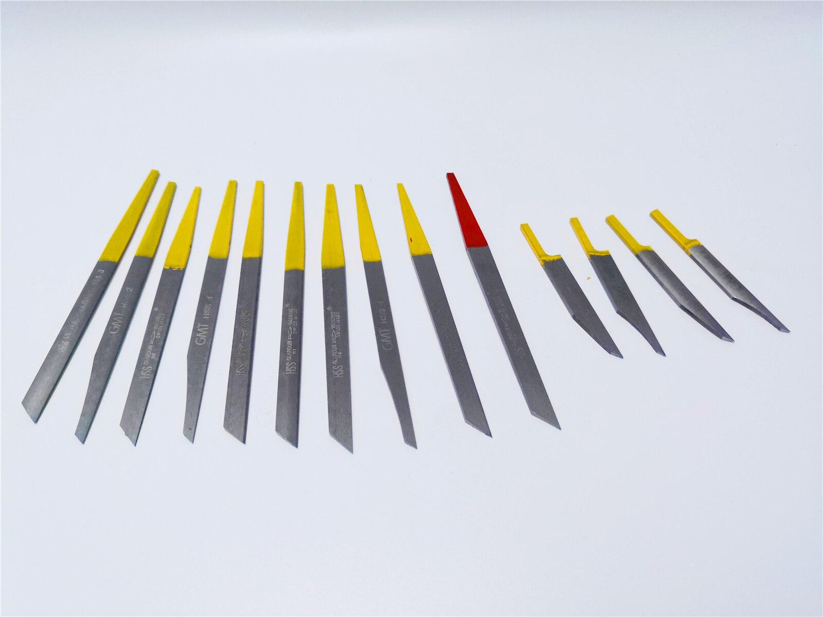 Gravure couteau bijoutiers HS Graver gravure max graviers G8 pneumatique sculpture couteau bijoux graveur outils - 4