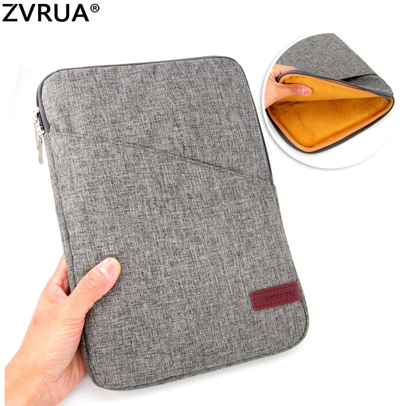 For New iPad Pro 10.5 2017 Release Shockproof Tablet Liner Sleeve Pouch Bag for Pro10.5 inch Cotton Tablet Cover