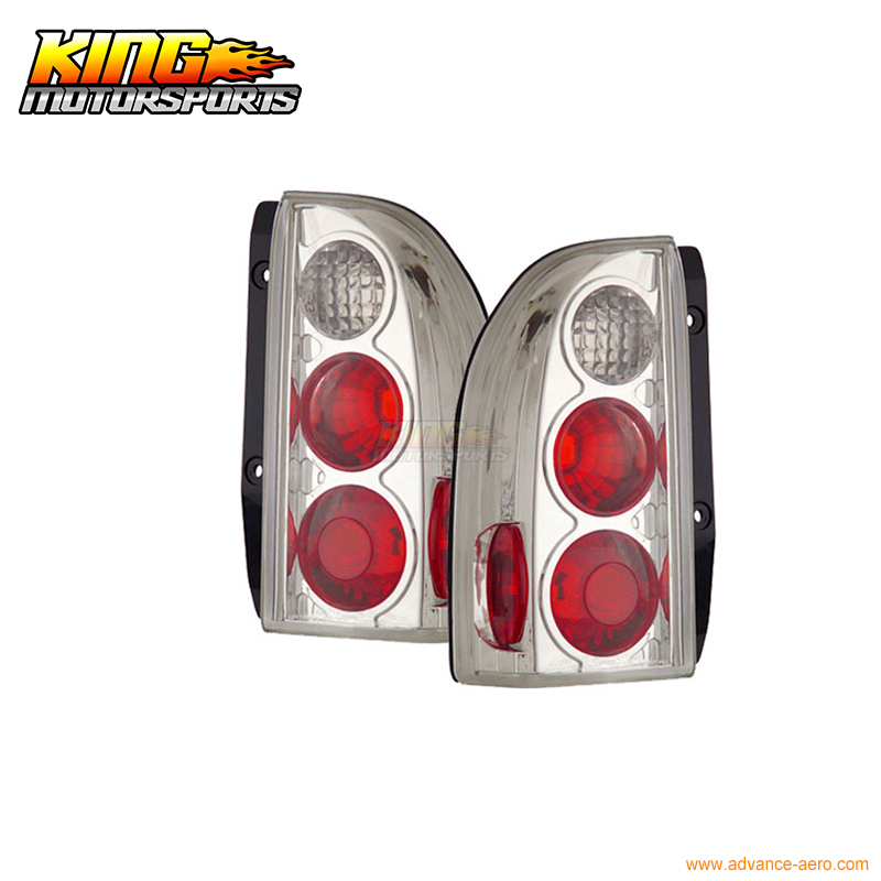 For 1999-2004 Suzuki Grand Vitara Xl-7 Altezza Style Replacement Chrome Tail Lights Lamp USA Domestic Free Shipping auto engine power steering pump 49100 65j00 4910065j00 55113201 for suzuki grand vitara ii jt 2 0