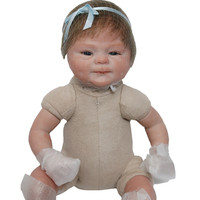 16 Newborn Dolls Silicone Reborn Baby Dolls 40 Cm Lifelike Baby Reborn Doll Toys For Children