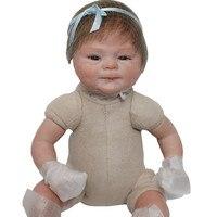 16 Newborn Dolls Silicone Reborn Baby Dolls 40 Cm Lifelike Baby Reborn Doll Toys For Children