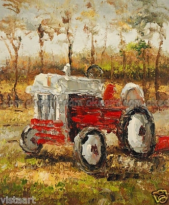 oil paintings on canvas free shipping decoration Farm