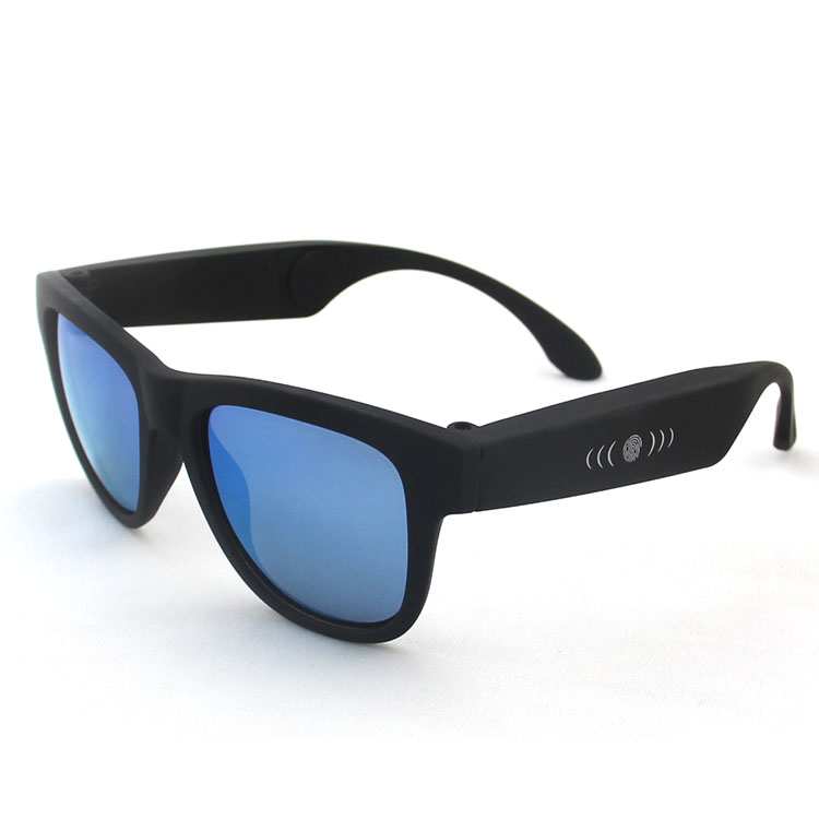 Polarized Glasses Sunglasses Bluetooth Bone Conduction Headset SmartTouch Stereo Earphones Wireless Headphones w/ Microphone keenion kos 588 wired stereo headset headphones w microphone black 3 5mm plug