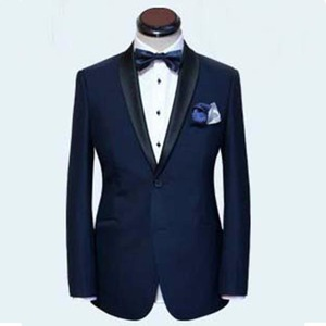 Image 3 - Skyfall Marineblauw Tuxedo Mannen Suit Custom Made, Skyfall Midnight Blue Wedding Suits Voor Mannen, bespoke Dubbele Kraag Smoking Voor Mannen