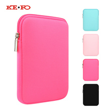 купить Shockproof Tablet Sleeve Pouch Bag Case for Teclast X80 Pro X80 Plus X80hd P80H Universal 8 inch Case Zipper Sleeve Cover funda по цене 308.2 рублей
