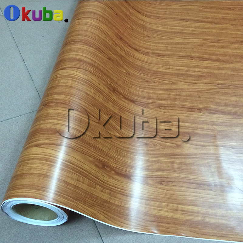 Oak Wood Grain Vinyl Roll PVC Car Furniture Decoration Stickers Color Change  Self U2026