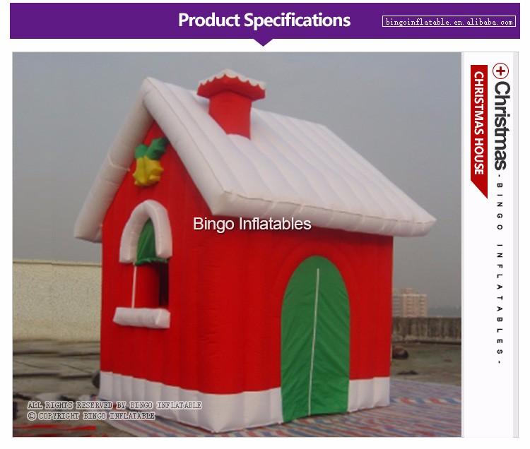 Christmas Inflatable House (1)